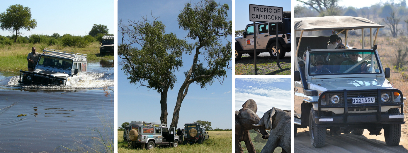 4x4 self drive safari botswana