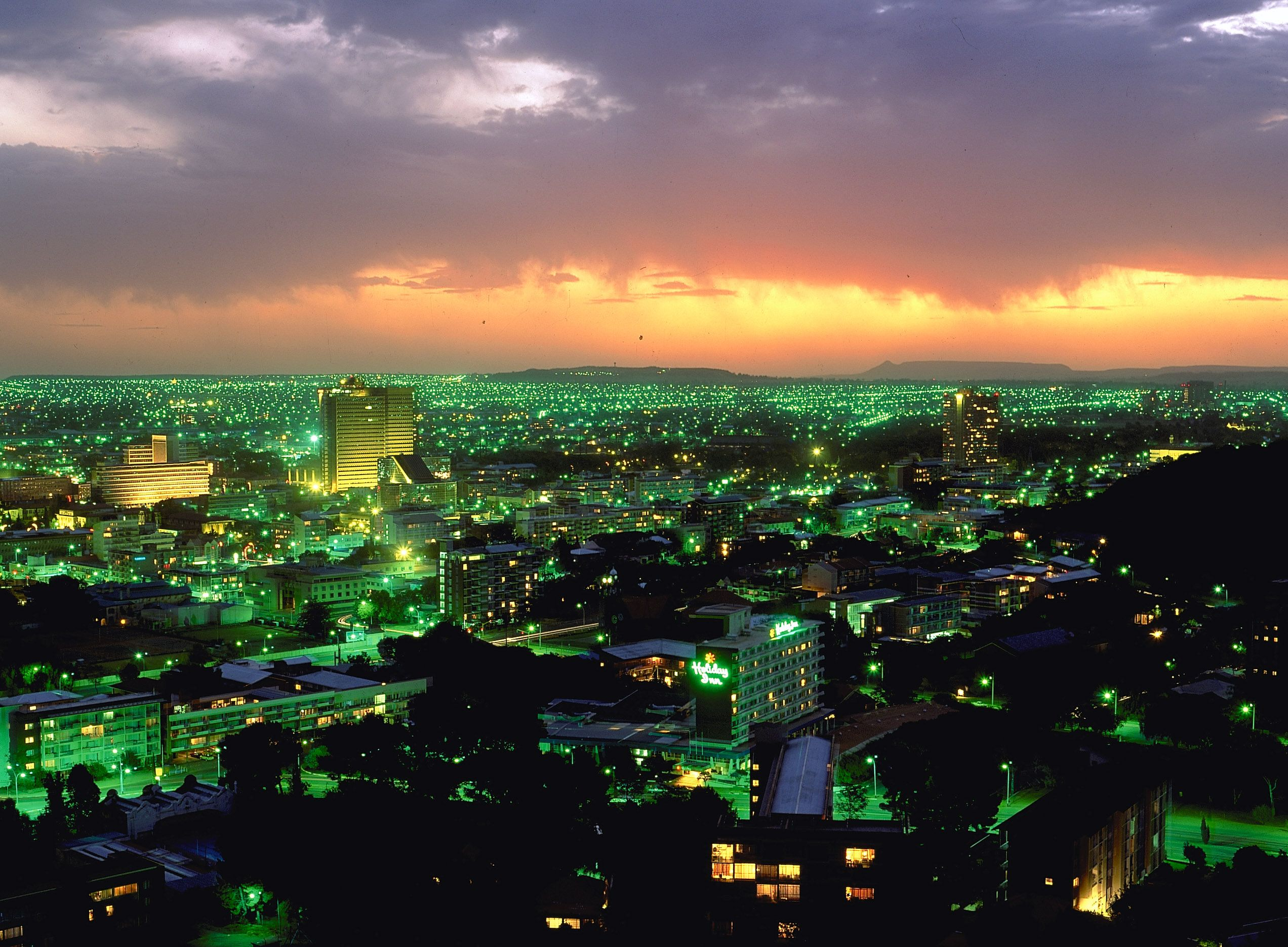 Bloemfontein Views at night