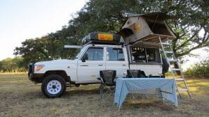 Toyota Landcruiser 4x4 Camping Equipped 4 Pax