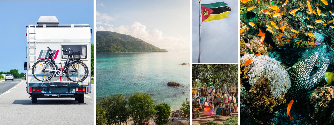 campervan hire in Mozambique