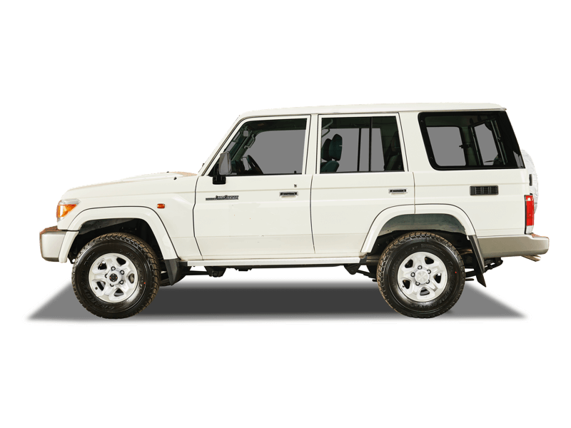 hire the robust landcruiser in mozambique