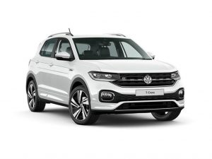 The Volkswagen T-Cross to rent in South Africa