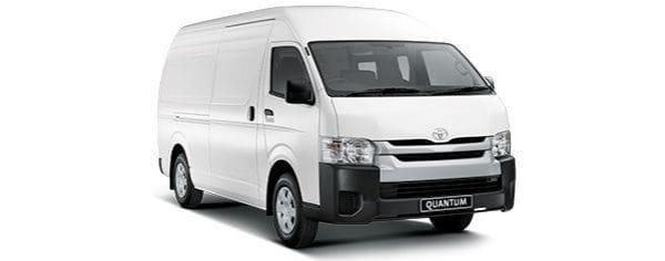 Toyota Quantum Panel Van 2 Seater