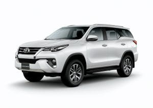Toyota Fortuner 2x4 Automatic Transmission