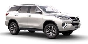 Toyota Fortuner 2x4 Automatic