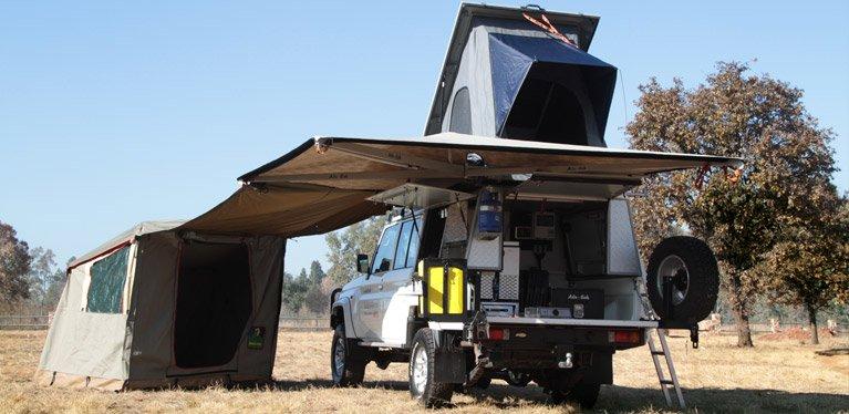 landcruiser safari vehicle