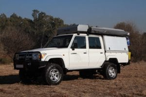 Toyota Land Cruiser Double Cab Bushcamper