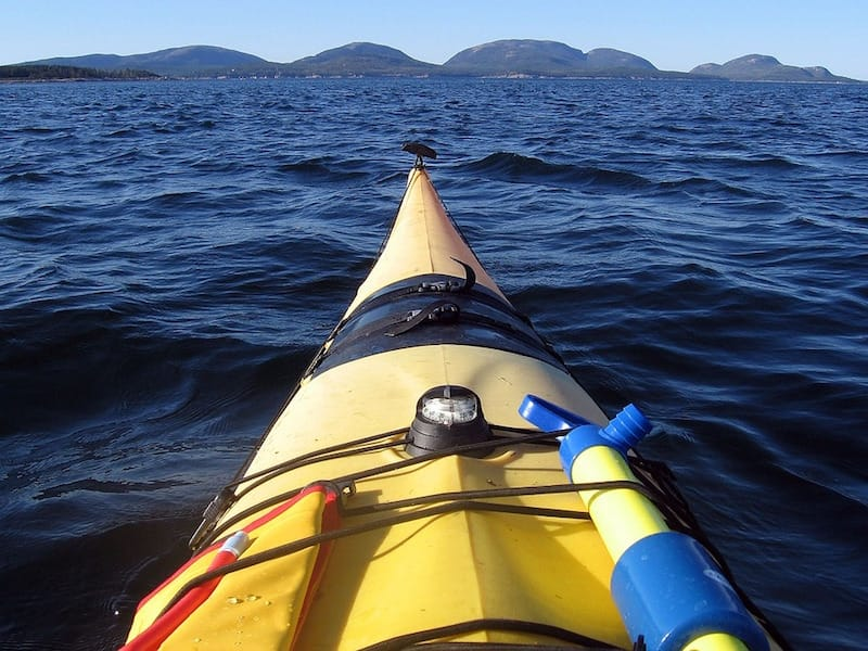 Kayaking Maine Acadia National Park Kayak Sea