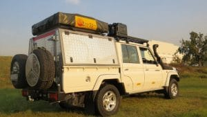 Toyota Landcruiser 4x4 (2 People)