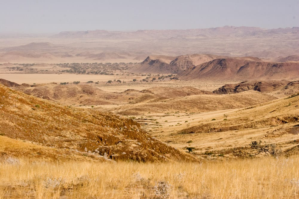 Near Damaraland Camp, looking southeast towards the Huab river