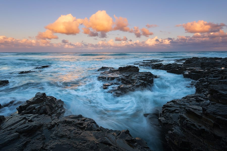 wild coast in eastern cape