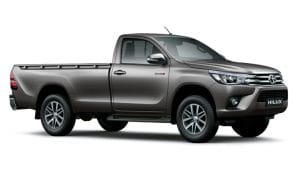 Toyota Hilux Raised Body Single Cab 4x2 One Ton