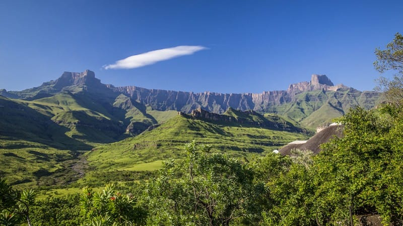 mountain range in South Africa