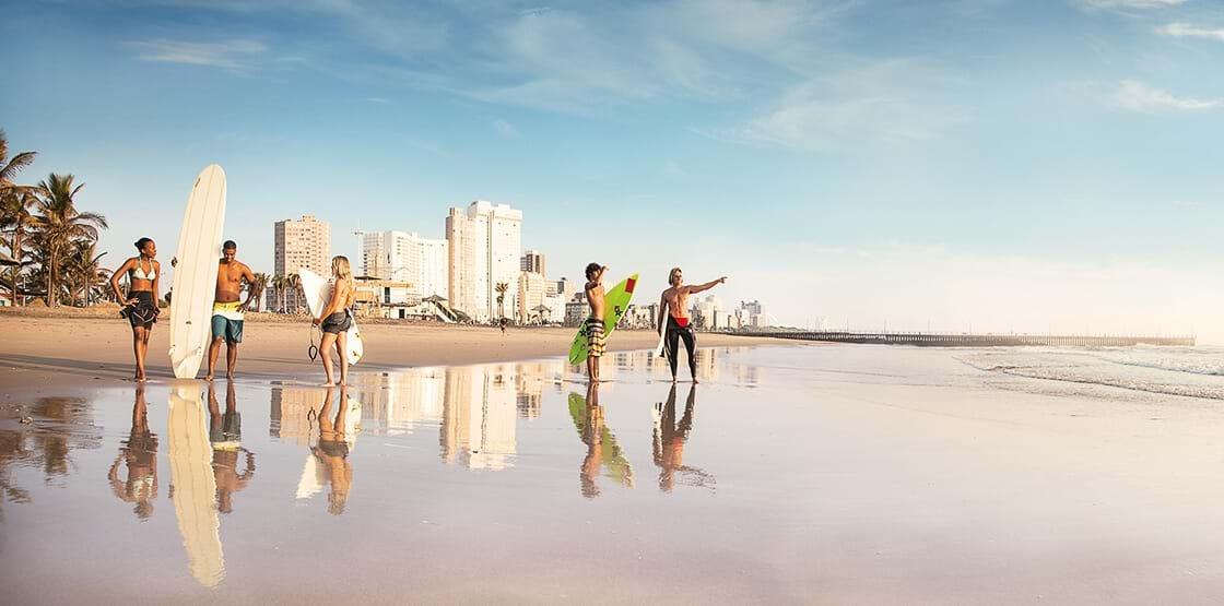 Beach Vibes in Durban