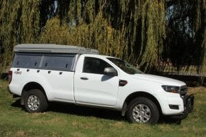 Ford Ranger Single Cab 4x4 Safari Camper