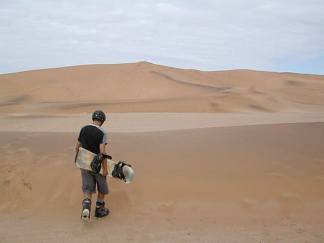 adventure sports in Namibia