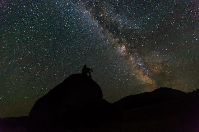 star gazing in namibia
