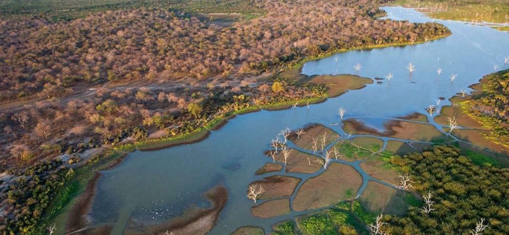 traveling through botswana