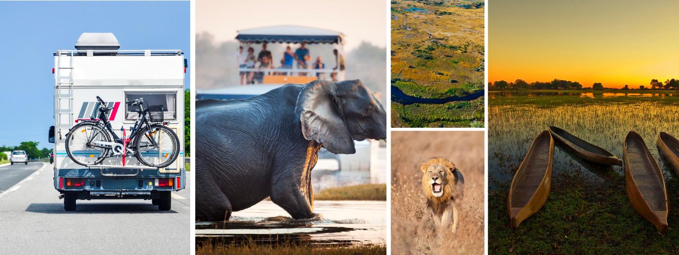 Campervan holiday Botswana