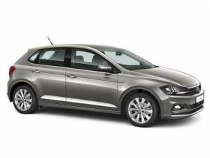 The Volkswagen Polo TSI Hatch to rent in South Africa from R410/day