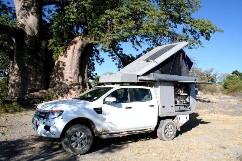 luxury 4x4 safari camper