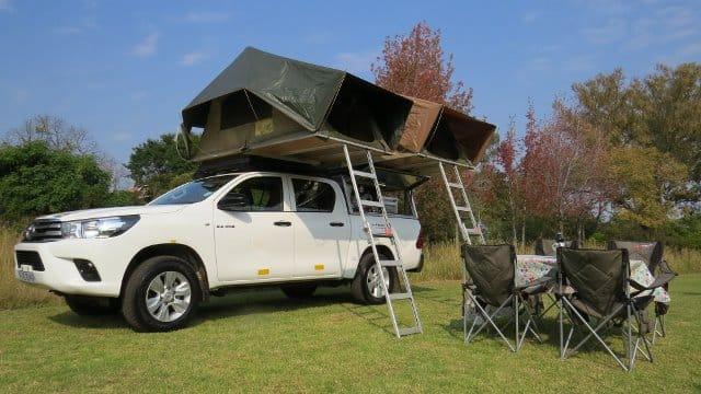 hire a toyota hilux camper