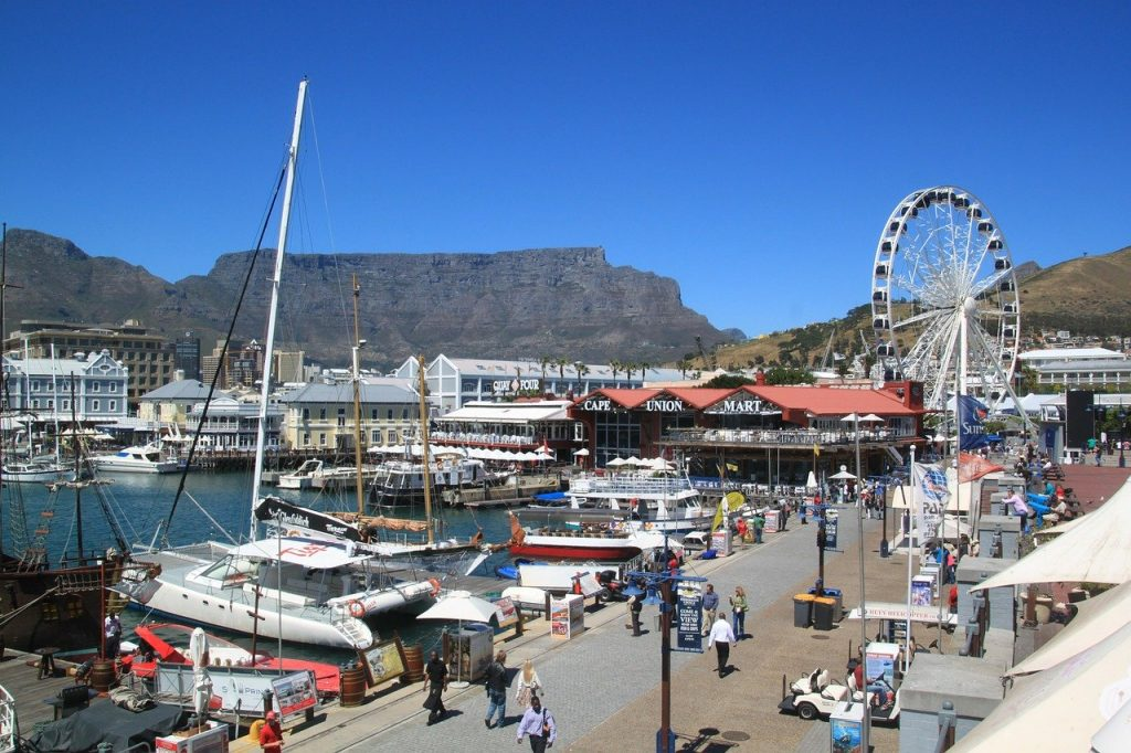 the wheel of Cape Town