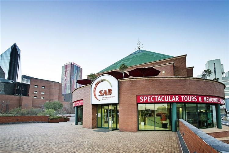 Beer museum in Johannesburg