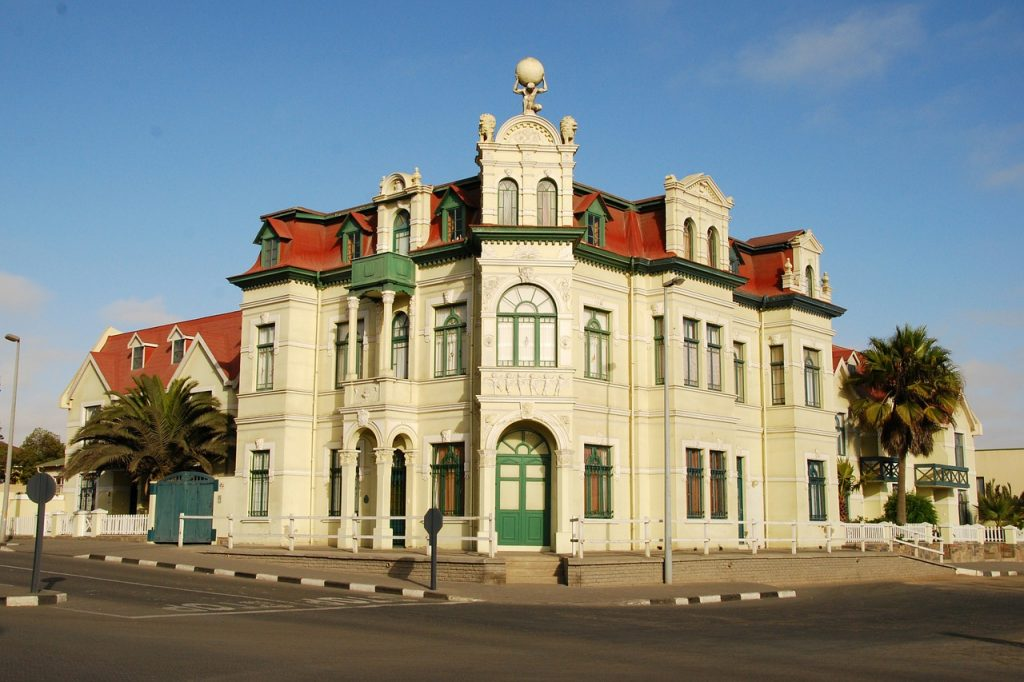 architecture in swakopmund