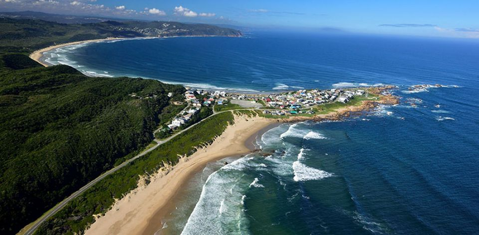 Knysna Lagoon and Waterfront in Knysna