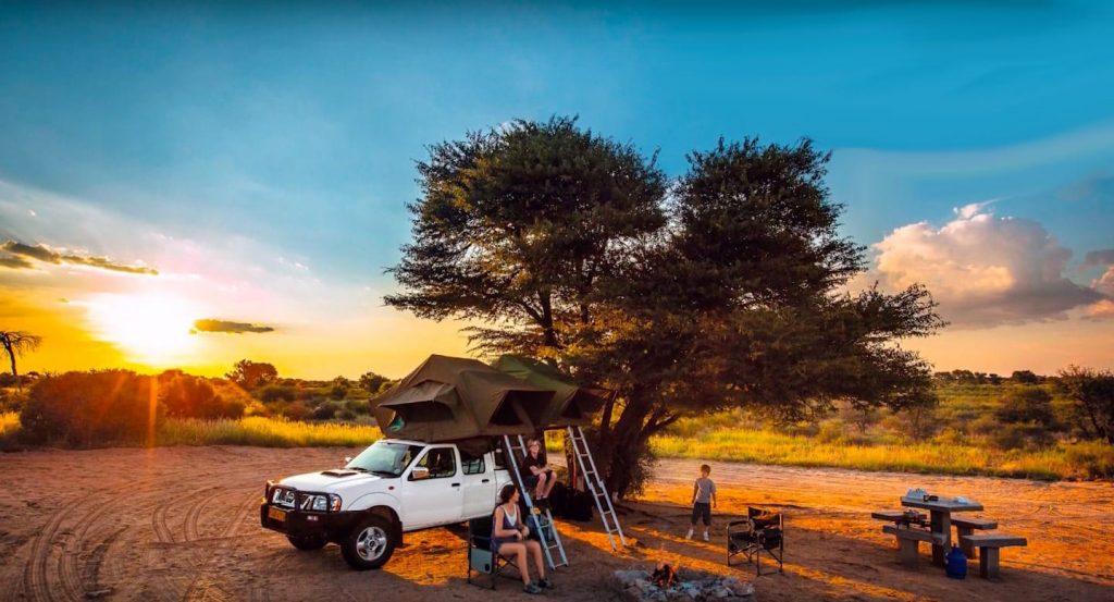 4x4 self drive safari vehicle hire