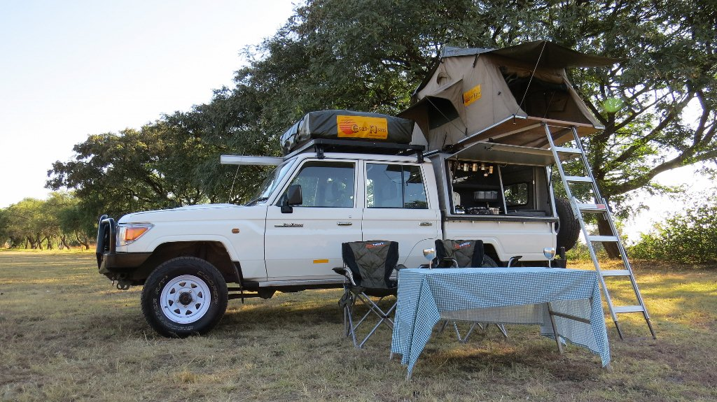 Campsites for self-drive 4x4 in Namibia