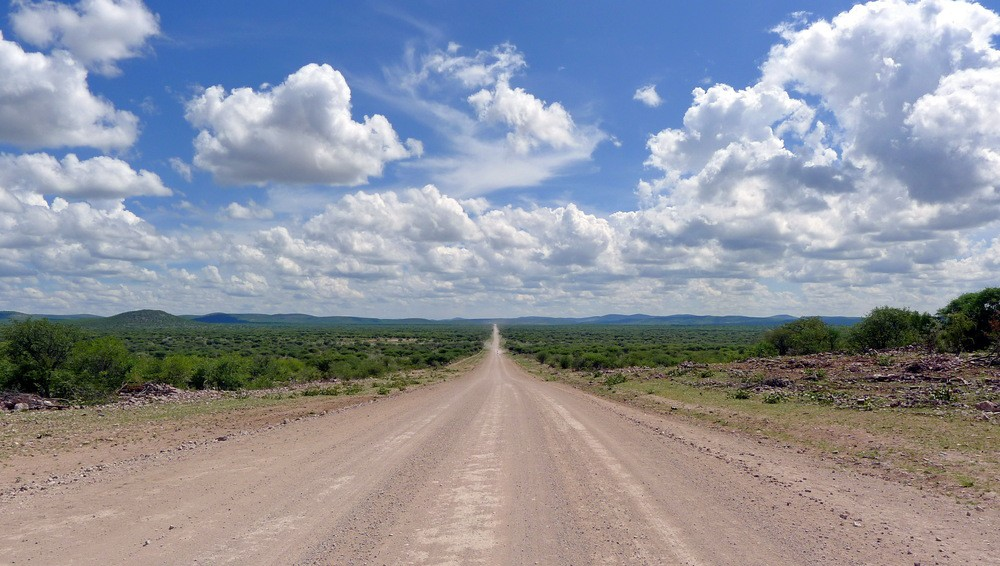 Gravel Road of Namibia