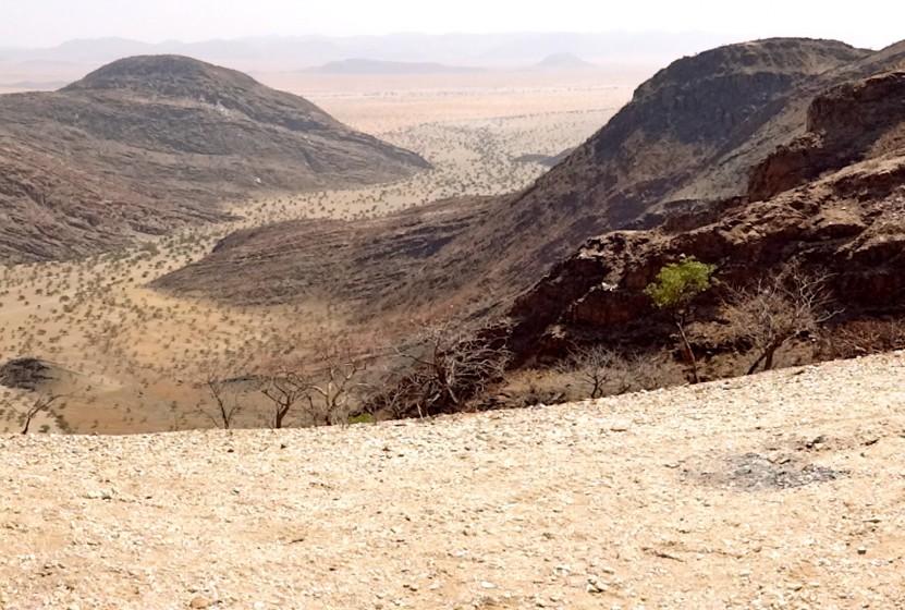 The Northern Kaokoland in Namibia