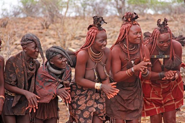 A Himba village