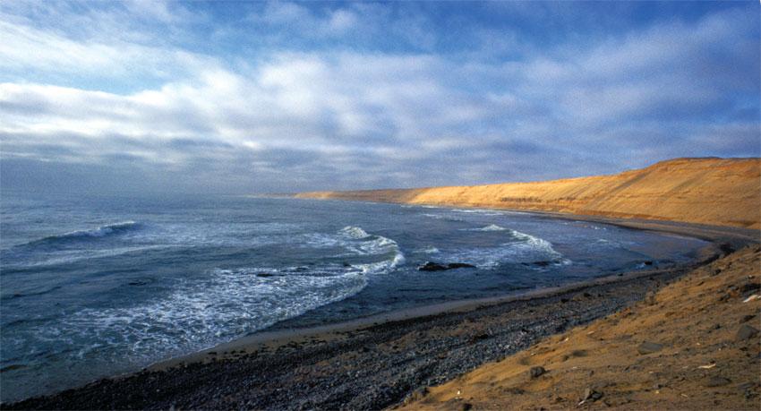 The Skeleton Coast is pristine and wild