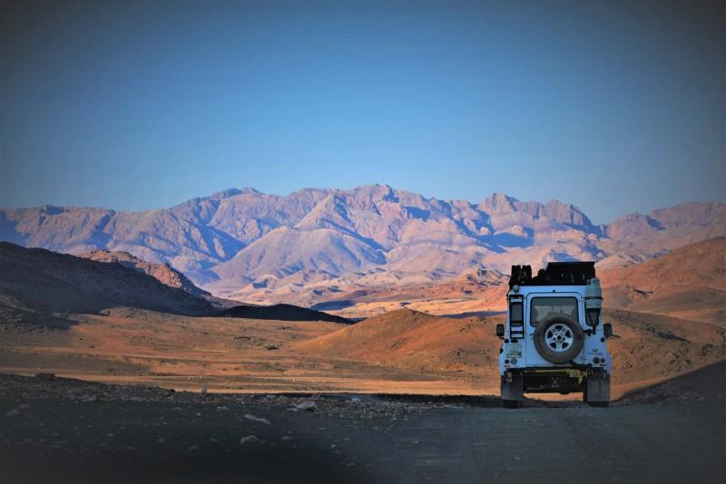 South Africa desert road trip
