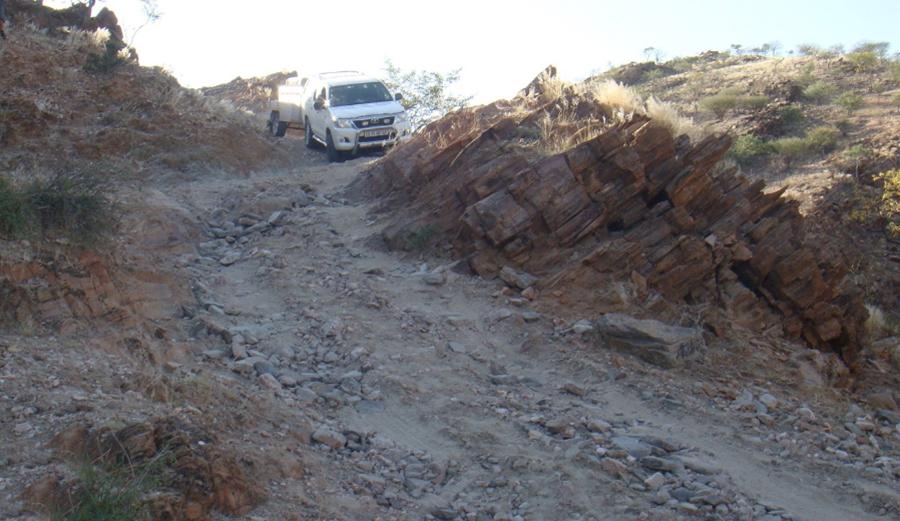 Namibi's famous Van Zyl's Pass