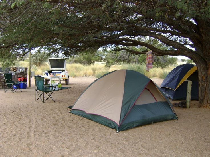 Wild campsites in Nambia