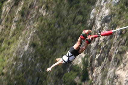 South Africa Bloukrans Bungee Jump Highest Commercial Bungee Jump in the World