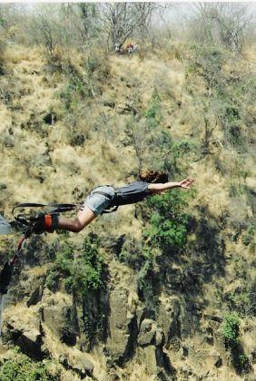 Bungee Jumping in Zimbabwe