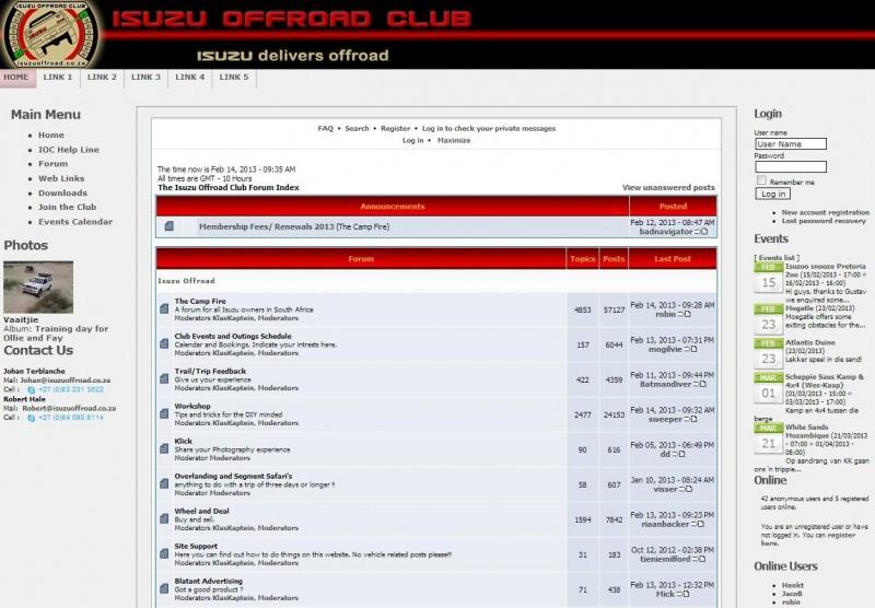 4x4 fan forums - Isuzu 4x4 Forum