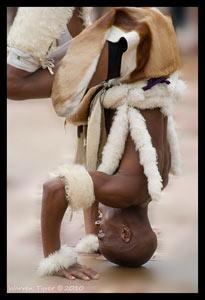 Kwa-Zulu Natal Durban Zulu dancer
