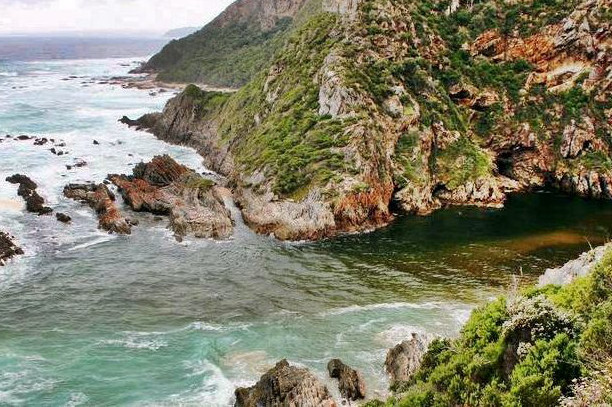 Bloukrans River crossing along the Otter Hiking Trail