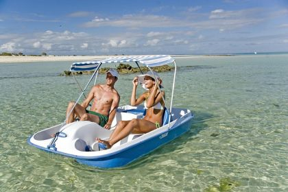 Honeymooners in Quirimbas Archipelago