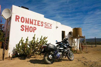 Ronnie's Sex Shop along Route 62