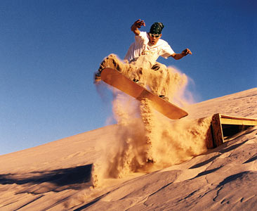 Namibia Swakopmund Sand Boarding