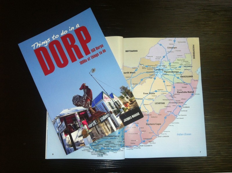 Things to Do in a Dorp on a map of South Africa
