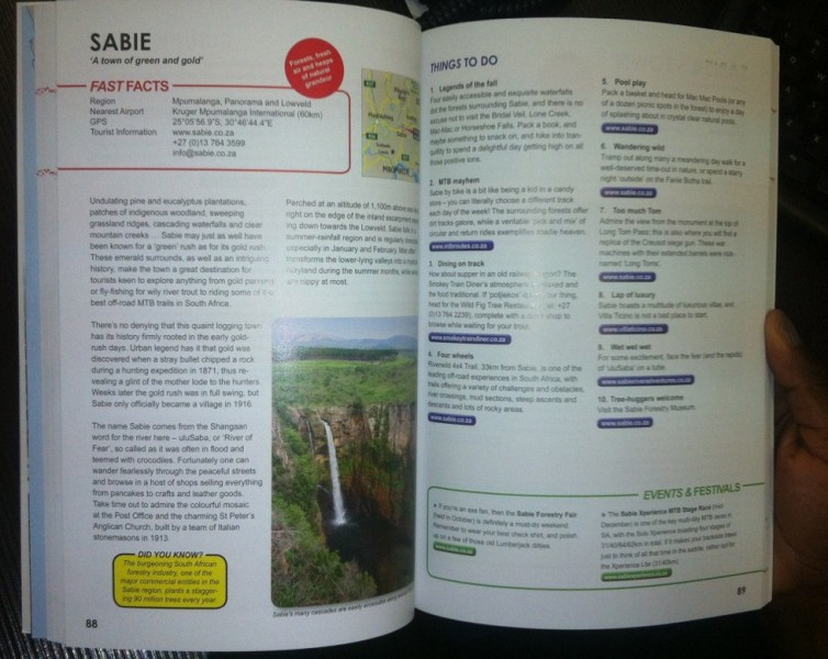 Things to Do in a Dorp - Sabie