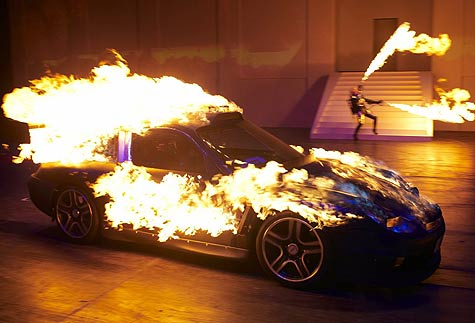 Top Gear Stunt Show Kyalami South Africa